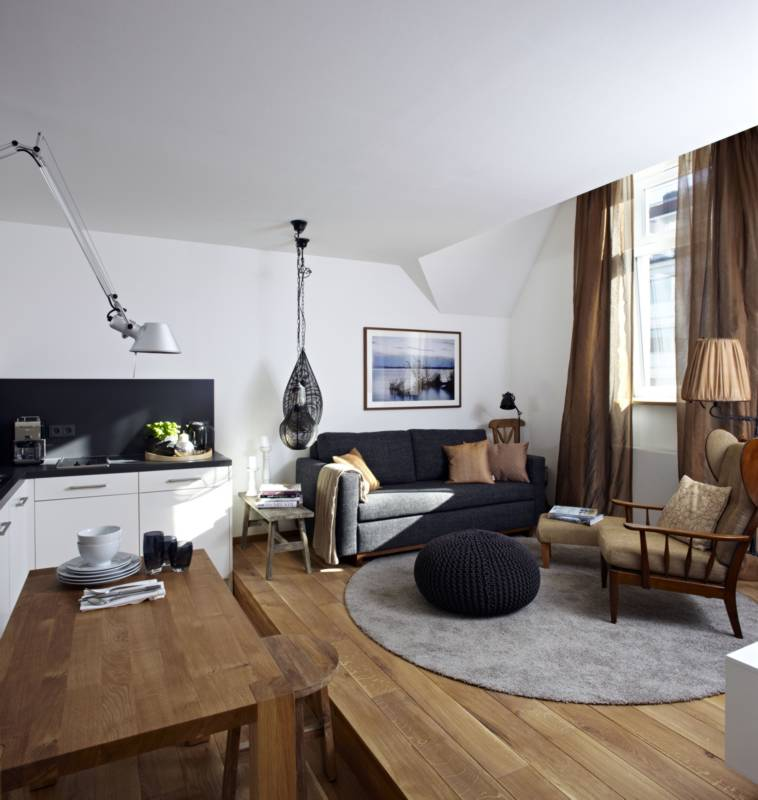 Wohnung design  Stylisch und cool: Unsere Design-Wohnung - Königsschlaf: Sieben ...
